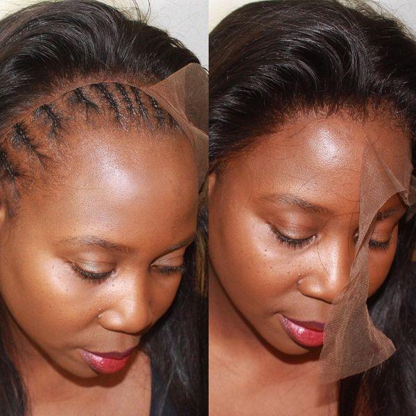 Brazilian Human Hair Wigs Straight Virgin Glueless Best Human Hair Wigs Brazilian Human Hair Wigs Pure Color No Shedding No Tangle