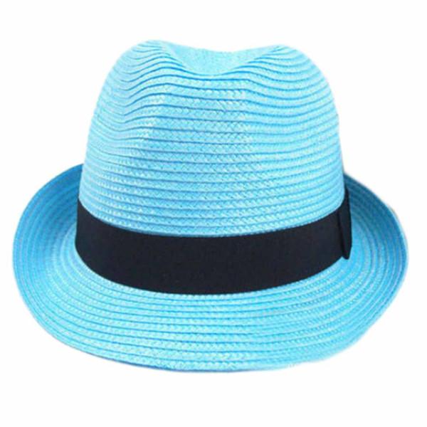 Atacado-Novo Chegada Mulheres Vento Europeu Grande Brim Chapéu De Palha Das Senhoras Rodada Bohemia Chapéus De Sol Praia Headwear Cap 1 Pcs