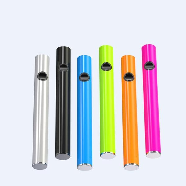 510 Thread vaporizer battery Button Thick Vape Batteries 240 mah USB Charger O Pen Wholesale for eCig Ceramic Cartridges Wickless Glass