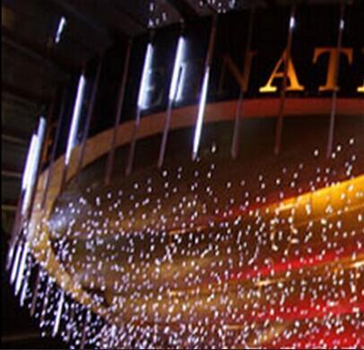 Edison2011 8 teile / satz 50 cm Meteorschauer Regen LED Licht Weihnachten Licht Schneefall LED Streifen Licht Weihnachten Regen rohr Rohre 100-240 V EU / US Stecker