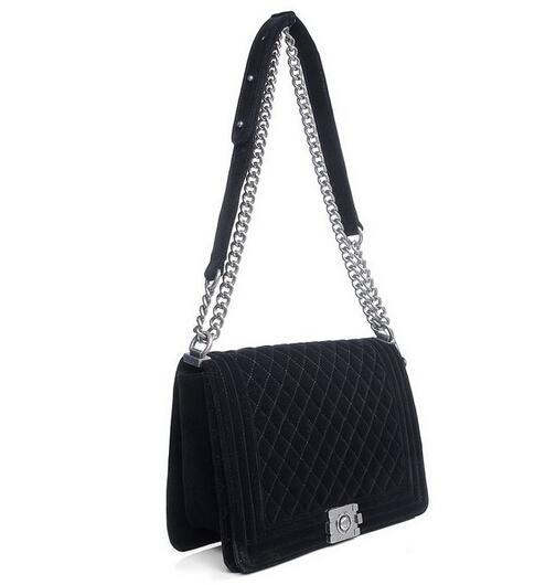 Fashion Boy Flap Velvet Chain Bag Women party clutch crossbody shoulder bag cheap flap boy bag