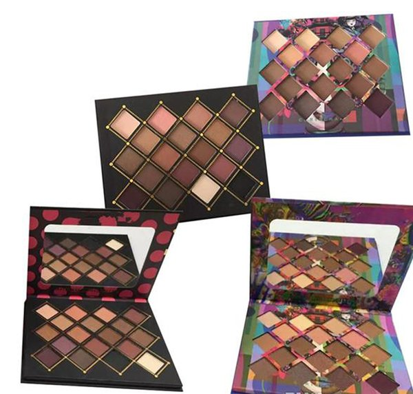 Hot makeup Palette!!Chris Chang 18 colors eyeshadow palette 2 Style top qaulity DHL shipping 660219
