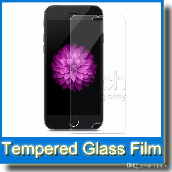 2.5D Tempered Glass 0.33mm 9H Explosion Screen Protector Protective for iPhone 6 Plus 5 Galaxy S6 Edge S5 S4 Note 4 HTC M9 Sony Z3 MOQ:12pcs