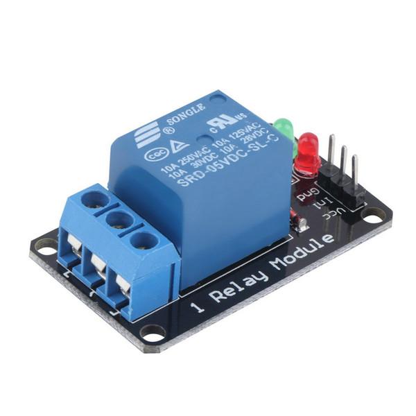 Modulo relè a luce LED con indicatore luminoso a 1 canale 5V stabile per Arduino Nuovo di zecca