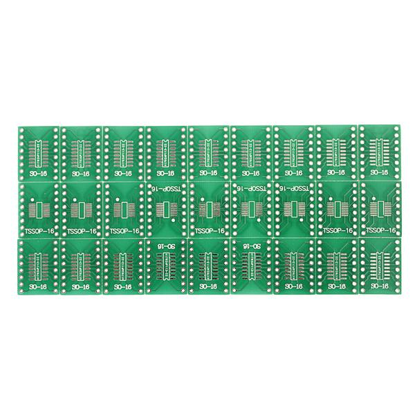 Best Price 20 Pcs SO16 SSOP16 TSSOP16 SOIC16 To DIP Adapter PCB Board Converter order<$18no track