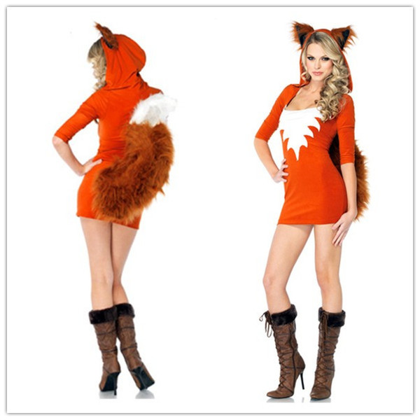 Cosplay Foxy Animal Costumes For Women Adult Furry Foxy Costume Mini Dress Fursuit Uniforms Outfits O31212  sc 1 st  DHgate.com & Cosplay Foxy Animal Costumes For Women Adult Furry Foxy Costume Mini Dress Fursuit Uniforms Outfits O31212 Halloween Themed Costumes Costumes For ...