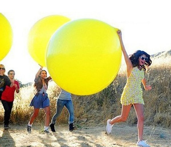 26'' 13g Colorful Giant Big Round Balloon Latex Materia Thicken For Birthday Wedding Party Home Decoration Helium Purple Pink Min Order10PCS