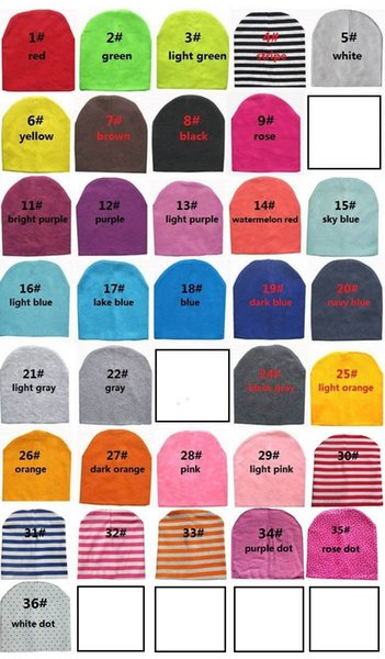 best selling free ups dhl ship baby cotton hat baby cap infant cap cotton infant hats skull caps toddler boys girls gift many color choose