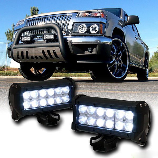 "7"" 36W LED Work Light Bar Lamp 2800lm Car Tractor Boat Off-Road 4WD 4x4 12v 24v Truck SUV ATV Spot Flood Super Bright Working Lamp"