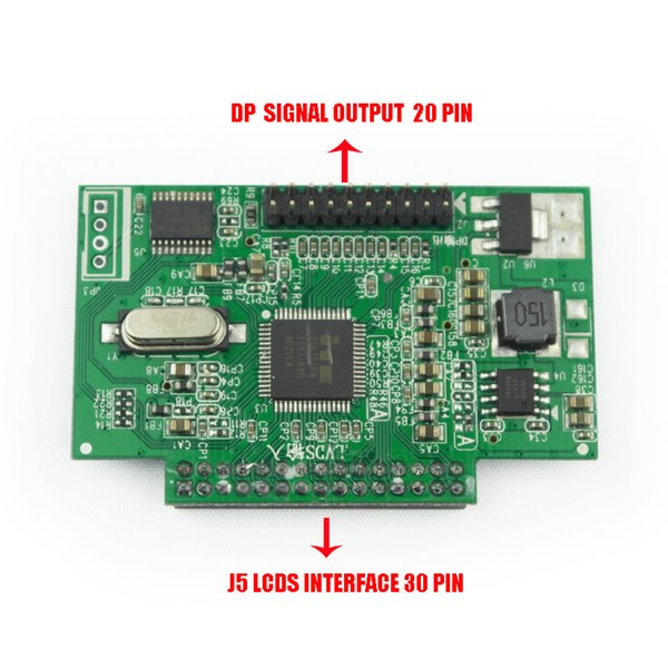 5V 30 Pin LVDS Turn To EDP Signal LCD Converter Controller Board LCD Module for 1920*1080P 1366*768P EDP LCD Screen Display Panel