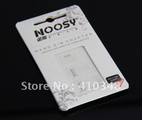Atacado-500pcs / lot Mais Novo Nano Sim Card Adaptadores Para Iphone 5 Nano para Micro para Sim Card com pacote de varejo frete grátis por DHL EMS