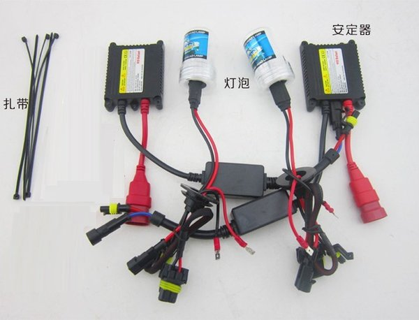 top popular Free Shipping HID Xenon Kit H1 H3 H7 H8 H9 H10 H11 9005 9006 880, Can be Mixed Models 2019