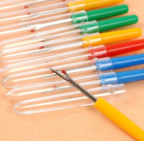 top popular 500pcs Steel Plastic Handle Craft Thread Cutter Seam Ripper Stitch Unpicker for China Craft Tools 2021
