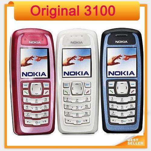Original Nokia 3100 GSM mini 1.5 inch single sim single core refurbished mobile phone