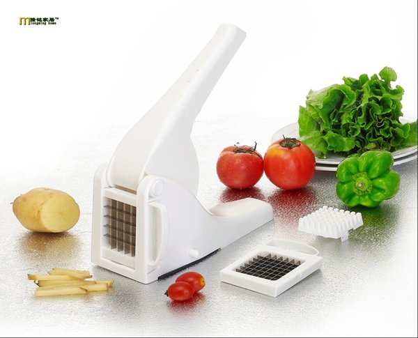1pc Durable High Quality French Fry Potato Cutters Peelers Zesters Vegetable Fruit Kitchen Tools Slicer Chopper Chipper Ok 0479