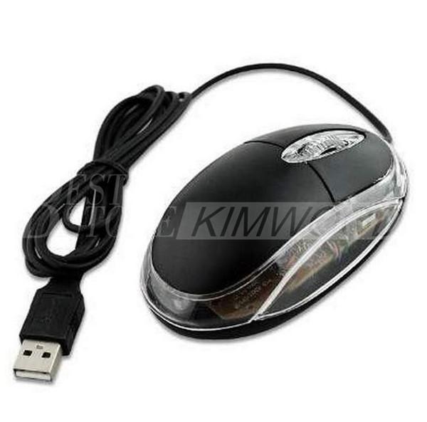 3D optische Mini verdrahtete USB-Spiel-Maus Cheapestest einfacher Art mit guter Qualität für Haus-ODER Büro-Computer-Benutzer-Match Windows MAC System
