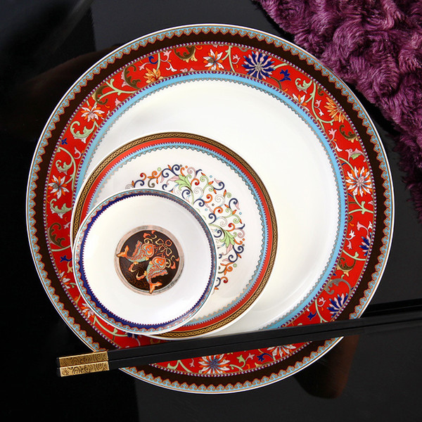 Wholesale-[ Vatican Kasha ] grade 88 bone china tableware suits Continental porcelain bowl ceramic  sc 1 st  DHgate.com & Wholesale Vatican Kasha Grade 88 Bone China Tableware Suits ...