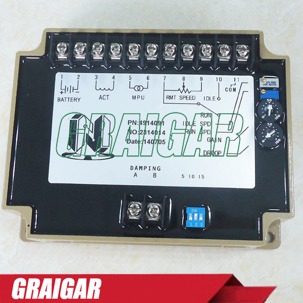 SPEED CONTROL UNIT EFC 4914091 Generator accessories speed controller governor speed control board