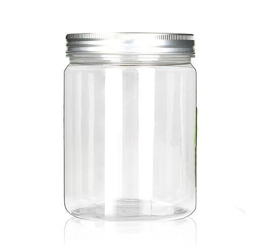 80g 100g 120g Tarro Vacío de Cosméticos Caja de Pote de Plástico Portátil Maquillaje Nail Art Eyebow Contenedor de Almacenamiento de Granos de Muestra Muestra de Botella