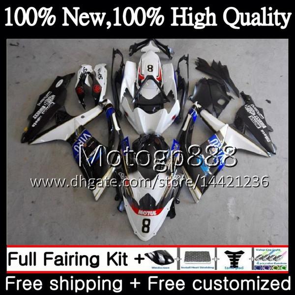 Cuerpo para SUZUKI GSXR750 08 09 10 K8 GSXR 600 08 10 26PG22 GSX-R750 GSX-R600 GSXR 750 GSXR600 2008 2009 2010 Fairing Bodywork Blue black