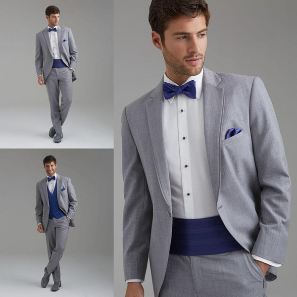 New Arrival 2015 Western Style Men Business Suit Brand Boss Dress Suit For Men's Wedding Formal Business Boys Suits (jacket+pants+vest)--q06