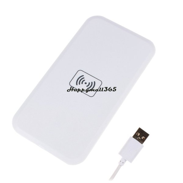 Wholesale-Qi Wireless Charger Charging Pad For iPhone 4S 5 5S for LG Nexus 4 5 for Samsung Galaxy S4 S3 Note1 Note2 All Mobile Phone#3 15