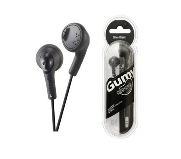 Gummy earbuds bass - wired stereo earbuds with bass