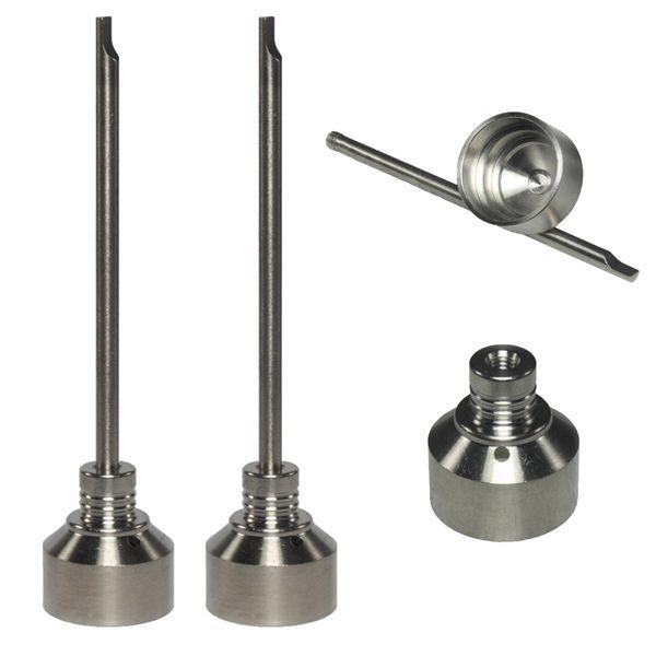 Fabrik Preis GR2 Titan Nagel Carb Cap Joint 18mm Universal Shisha Glas Bong Rauchen Wasserrohr Glas Rohre