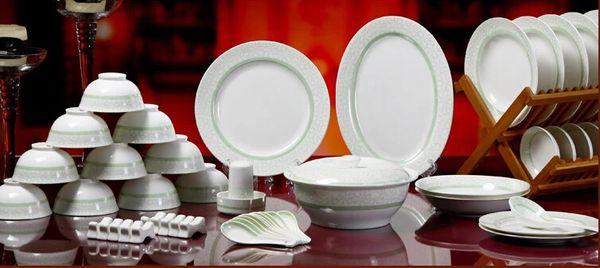 Wholesale Japanese 56 Skull Porcelain Tableware Set Porcelain Ceramic Tableware  Japanese Dishes Korean Dishes Suit