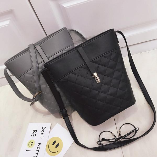 08057362bed 2017 Venta Caliente Diamond Lattice bolsos cluth femeninos de la PU  totalizador de diseñador bolsas de hombro bolsas de lazo abierto abierto de  calidad ...
