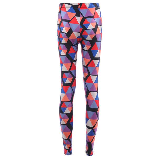 52e57d1bdc4f3a 2017 NEW 3745 Colorful Rainbow ripple ellipse Prints Sexy Girl Pencil Yoga  Pants GYM Fitness Workout Polyester Women Leggings Plus Size