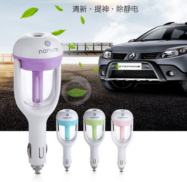 Nanum Fashion New Mini Ricarica Bottiglia d'acqua portatile Umidificatore a vapore Air Mist Diffusore Purificatore Car Office Room