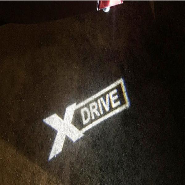 Hot sale a pair For BMW light Car Door Welcome Logo emblem light 3 5 7 Series GT X5 X3 M3 M5 X DRIVE Logo welcome light