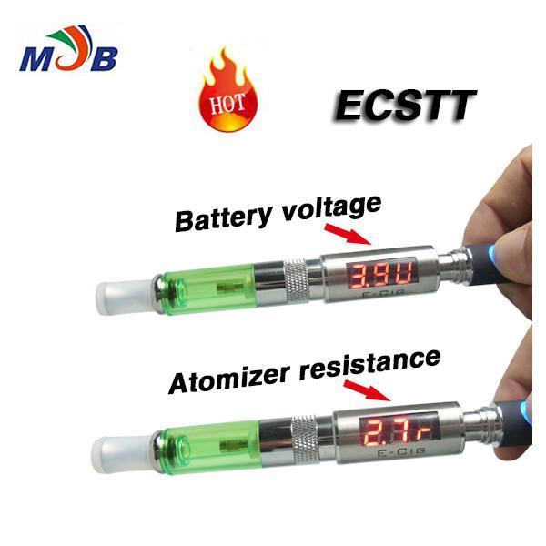 Atomizer Ohm Metre, Ecig Ohm Metre E-sigara Gerilim Test Cihazı ECSTT MT3 CE4 Için GS perakende kutusu ile