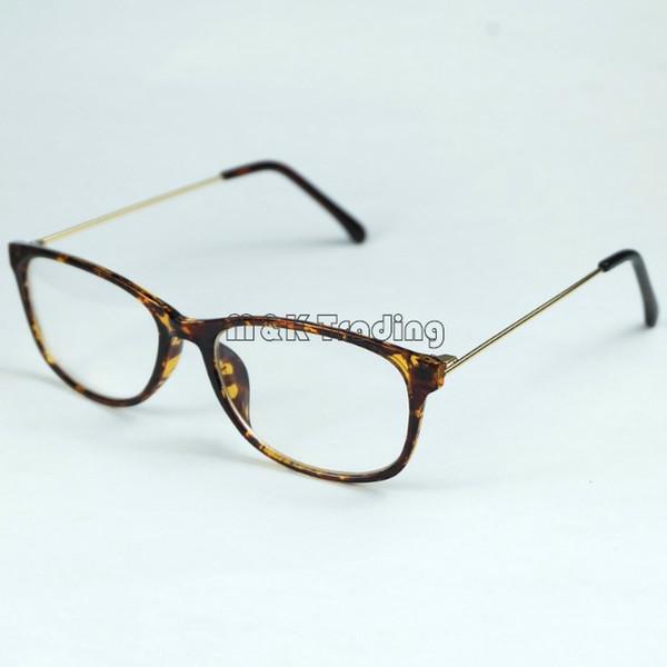 Glasses Shop Plastic Frame Metal Legs Optical Frame Light Weight ...
