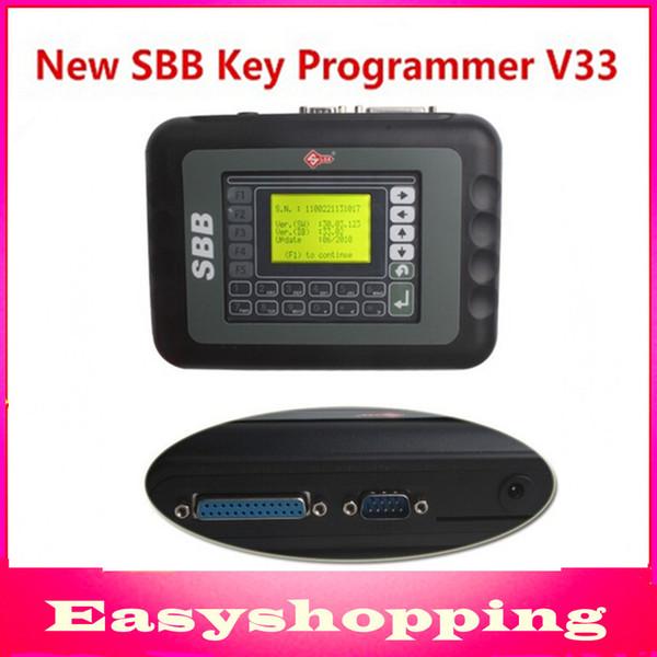 Gros-2015 professionnel clé programmeur v33.02 silca outil clé CFF avec multi-langue haute CFF V33.02 programmeur clé DHL livraison gratuite