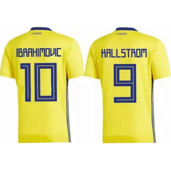2018 İSVEÇ ZLATAN IBRAHIMOVIC survetement maillot maglia tay kaliteli futbol forması tayland futbol formaları futbol formaları üniforma