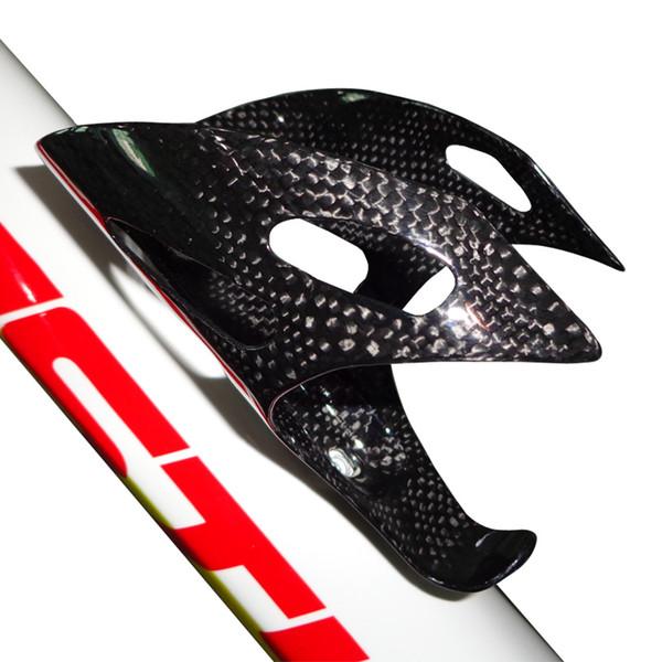 BC1099 in stock carbon fiber bike water bottle cage red/carbon black color 3k weave