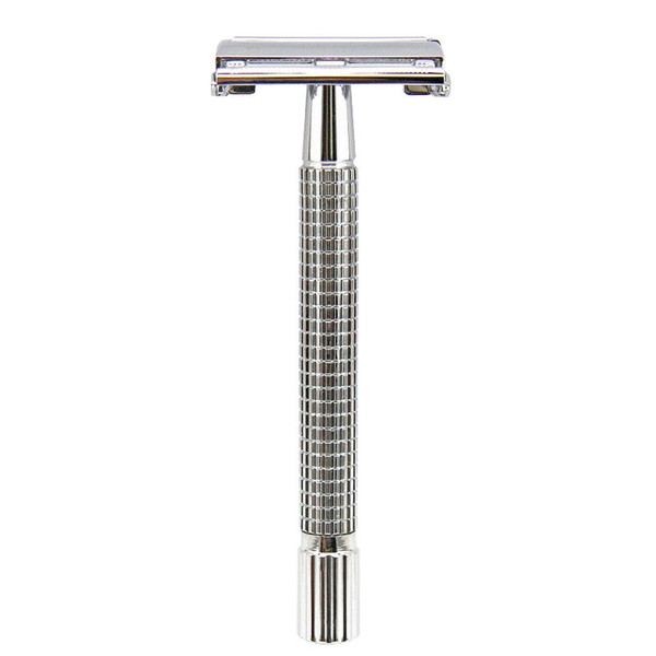 best selling Butterfly Weishi 9306FL Men Shaving Classic Shaver Safety Razor Double Edge Long Handle Razors