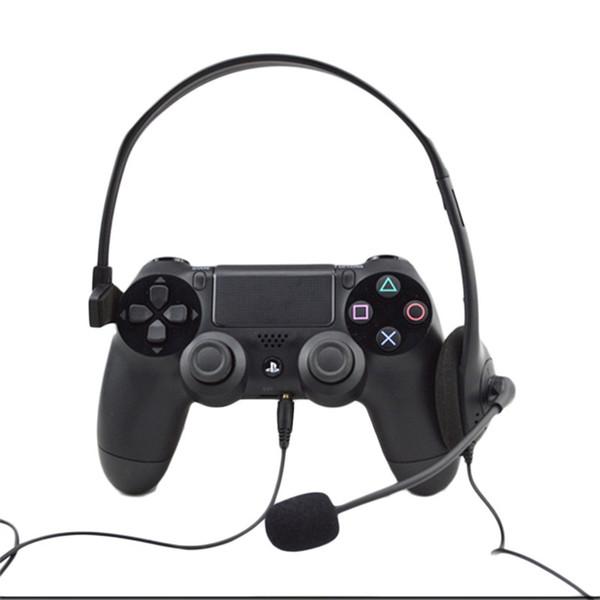1pc Over-ear Auriculares con cable para auriculares Auriculares para videojuegos de PC Para Playstation para PS4 Con VOL nueva llegada