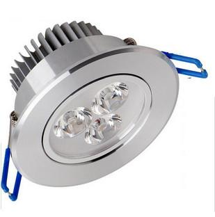 top popular Recessed LED Downlight 3W 6W 9W Dimmable Ceiling lamp AC85-265V White Warm white LED Down Lamp Aluminum Heat Sink convenience lamp led light 2019