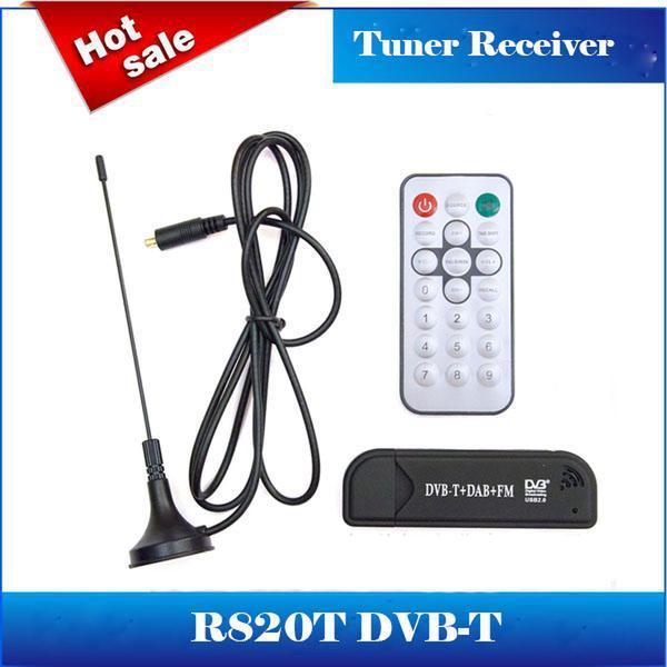 Clé USB 2.0 DVB-T SDR + DAB + TV FM RTL2832U + R820T