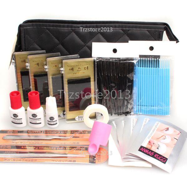 Wholesale-WonderLash Starter Kit Pro Semi Permanent Individual Eyelash Extensions C Curl