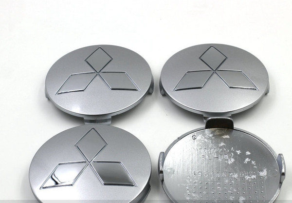 best selling 4pcs lot ABS 81mm Mitsubishi Wheel Center Hub Caps Chrome Badge Wheel Hub Covers For Mitsubishi Pajero V73 V75 V77 V78 Montero etc