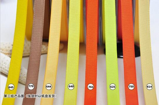 """best selling 15% off new arrival 1""""(25mm)100% Polyester Grosgrain Ribbon solid Color gift Packing belt diy hair accessories 300yards 196 Color OEM"""