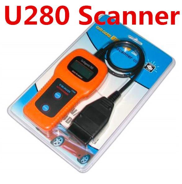 best selling U280 Memo Scanner Code Readers CAN VW AUDI Automotive Engine Fault Diagnostic Analyzer Tool Code Readers Scan Tools