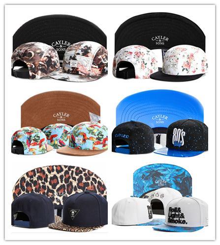 Gute verkaufen Swag Stil Marke Cayler und Söhne Sohn Snapback Caps Hip-Hop-Kappe Baseball-Mütze Hüte für Männer Frauen Knochen Hysteresen Knochen Gorras