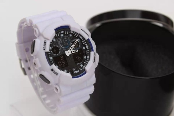 chronograph watches military watch digital watch men & boy gift Hot new style men's sports LED watches