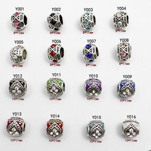 top popular 16 kinds Fit Pandora Charms Bracelets Original Beads 925 Sterling Silver Beads European DAISY SILVER CHARM WITH CUBIC ZIRCONIA 2020