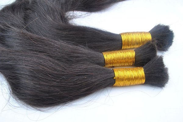 5A Grade 1g/s 200g/pack Straight 12''-22'' 24'' 26'' 28'' 30'' Bulk Hair Braid 100% Indian Human Hair Extensions